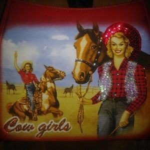 Western Cowgirl Purse with matching bag
